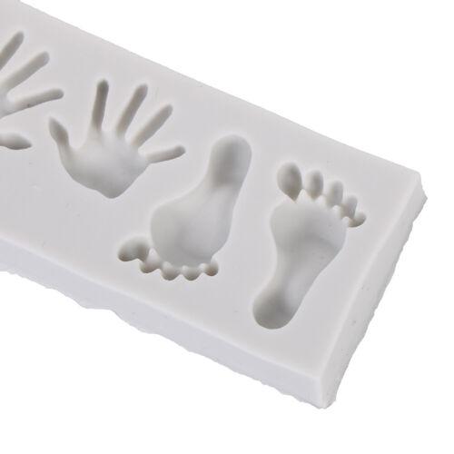 Mini Feet hand Shaped Silicone Candy Chocolate Cake Mold Creative Cake In gf
