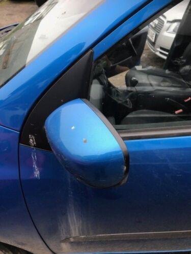 Hyundai I10-2010 N//S Passenger side wing Mirror BLUE
