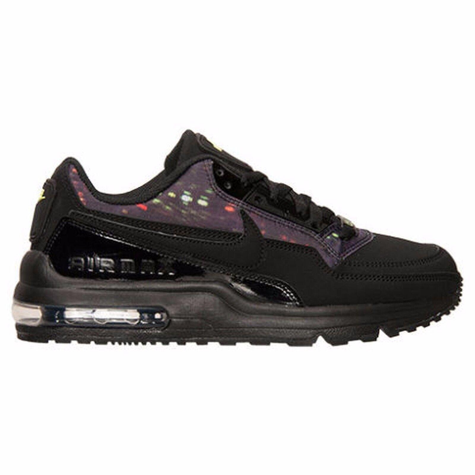 Nike air max ltd 3 prem nero / grigio scuro delle scarpe da corsa 695484 007 Uomo sz