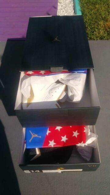 Nike Air Jordan Golden Moments Pack 6 7 VI VII Size 14 - Olympics Retro