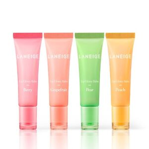 LANEIGE-Lip-Glowy-Balm-Berry-Grapefruit-Pear-Peach-10g