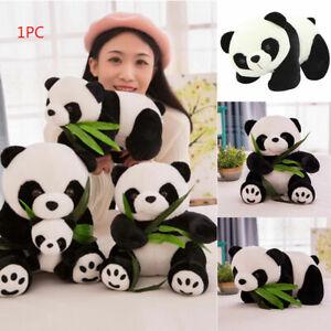 Toy Lovely Bear Plush Panda Cute Cartoon Pillow Stuffed Animals Gift Doll Ebay