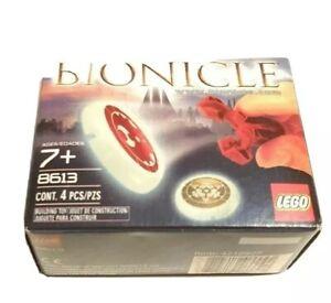 LEGO-8613-Bionicle-Metru-Nui-Kanoka-Disk-Launcher-Brand-New-amp-Sealed