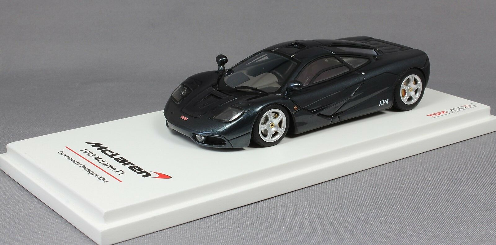TrueScale McLaren F1 XP-4 ProssoOTIPO sperimentale in Nero 1993 TSM134328
