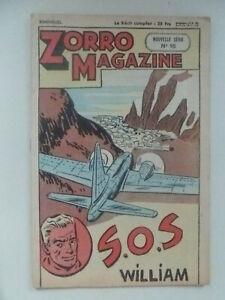 EDITION CHAPELLE /  ZORRO  MAGAZINE  /  NOUVELLE SERIE  NUM 15 /  1952
