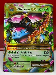 Pokemon XY Set ULTRA RARE M Venusaur EX 2//146 NM//M Condition
