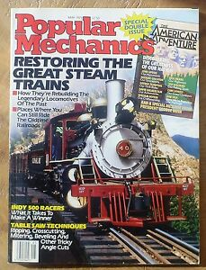 Popular-Mechanics-May-1989-Double-Issue-American-Adventure-Steam-Trains