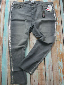 Mia-Moda-Jeans-Trousers-Stretch-Grey-with-Elastic-Size-40-to-64-plus-Size-488