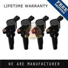 New Pack of 4 Ignition Coils for Ford Mazda 2.0 2.3 Dohc Dg507 Dg541 C1453