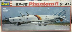Vintage-Revell-Model-kit-RF-4E-Phantom-II-Scale-1-32-1985-made-in-W-Germany