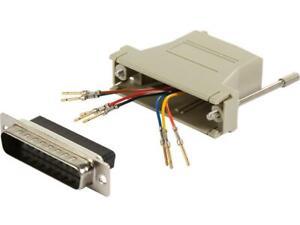 C2G-02934-RJ45-to-DB25-Male-Modular-Adapter-Gray