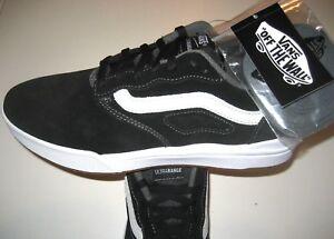 dc27b4c4b307 Vans Mens UltraRange Pro Black White Suede Skate shoes Size 13 ...