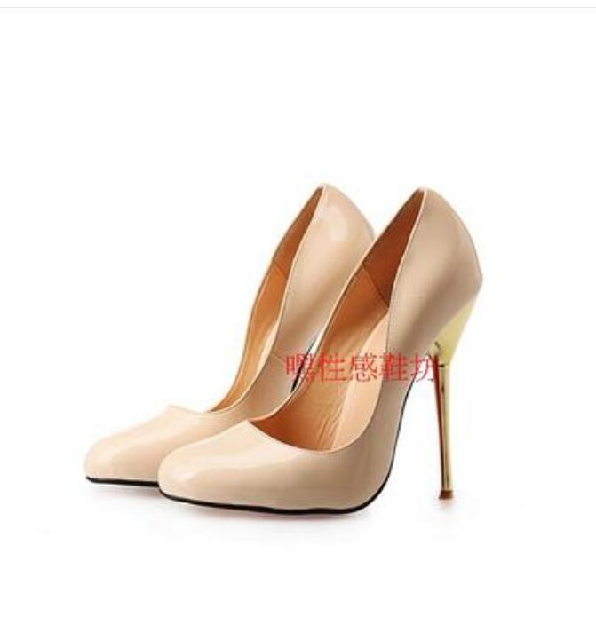 2018 Neu Sexy Pumps Damen Schuhe Pumps Sexy Größe mit Stahlrohr Tanzschuhe 40-50 Lsckleder 5b0eda
