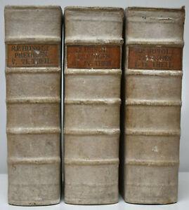 Franz-Hunolt-cristiana-costumi-Lehr-Uber-la-verita-evangelica-1748-51
