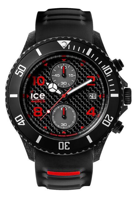 Ice Watch Carbon Chronograph schwarz Big Big CA.CH.BK.BB.S.15 XL 53 mm