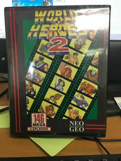 World Heroes 2 (Neo Geo, 1993)