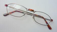 Brillenfassung schmal zierlich Damen Herren leicht kleine Gläser matt S 46-18
