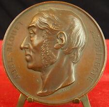 Médaille XIX architecte architecture Abel Blouet par Domard Medal 铜牌.Architect