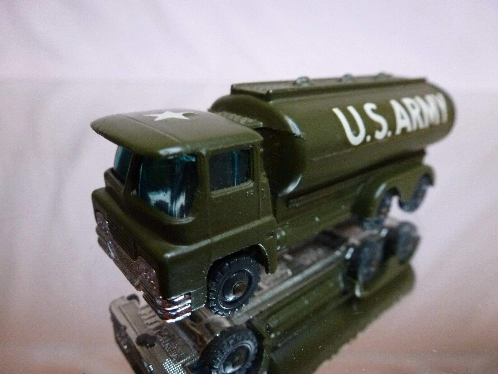 HUSKY GUY GUY GUY WARRIOR TANKER - US ARMY - MILITARY GREEN L7.0cm - EXCELLENT CONDITION 46710e