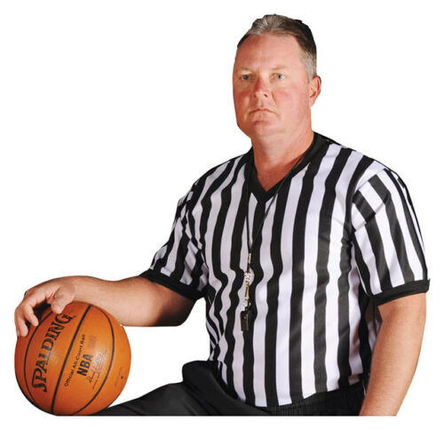 Majestic 6102 V-Neck Referee Jersey Adult