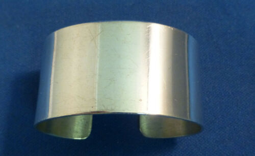 S MEXICAN STERLING 925 PLAIN OVAL NAPKIN RING