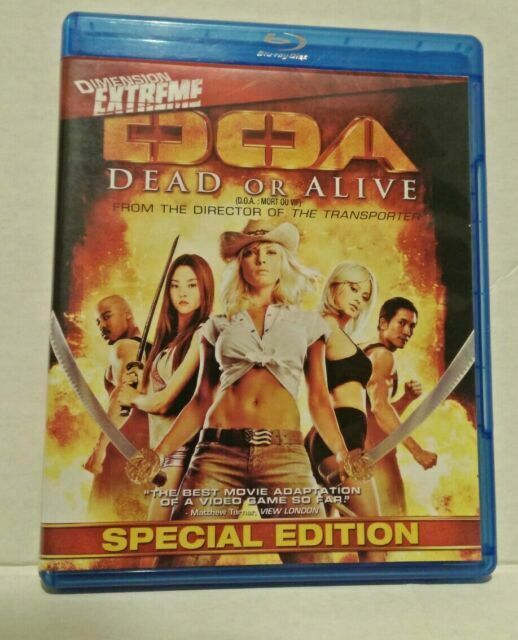 Doa Dead Or Alive Blu Ray Disc 2010 Canadian For Sale Online