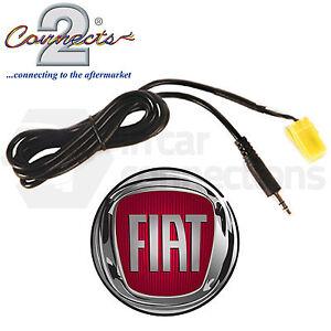 fiat grande punto aux eingang 3.5mm stecker kabel kfz ipod adapter