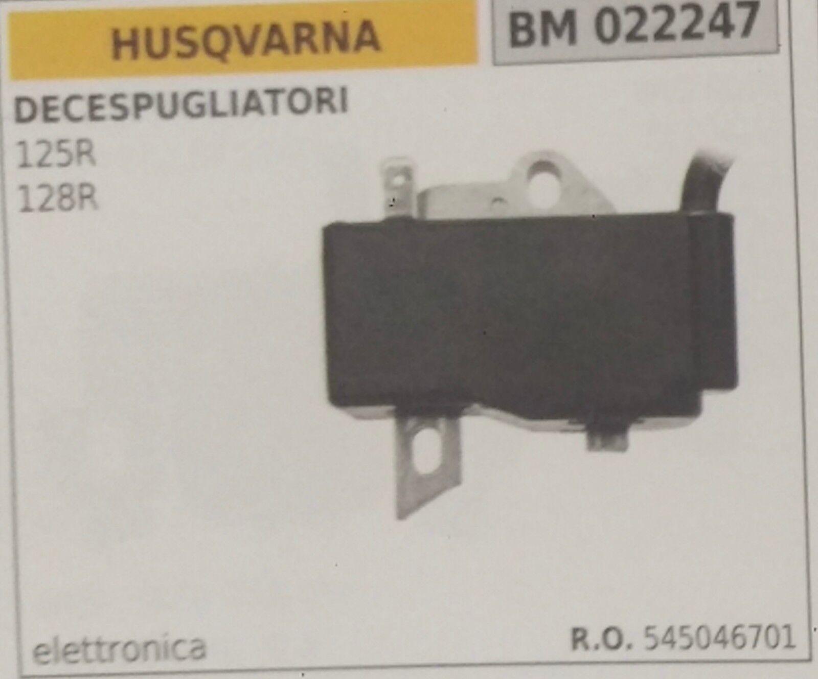545046701 Bobina Electrónica Cortador de Cepillo Husqvarna 125R 128R
