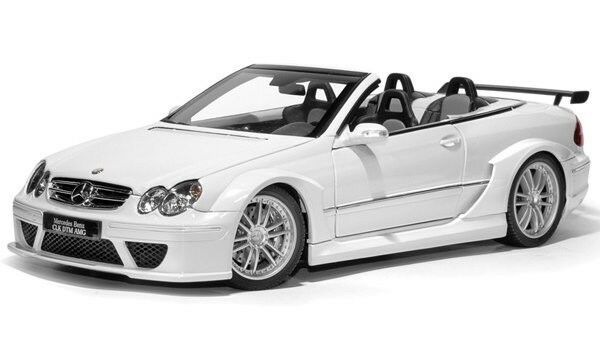 Kyosho Mercedes Benz CLK DTM AMG Cabrio Street biancao 1 18  en Stock