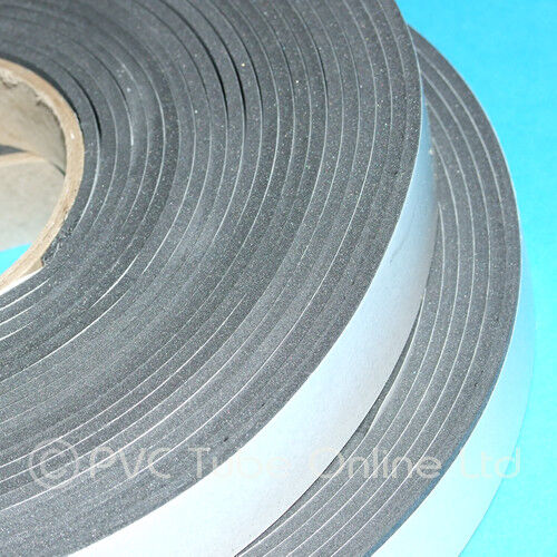 Single Sided Foam Tape 3mm Thick x 25mm Wide Self Adhesive Window Door