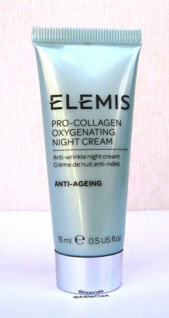 Elemis Pro Collagen Oxygenating Night Cream 15ml - New Sealed