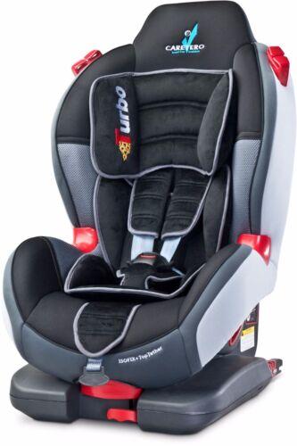 Kindersitz Kinder Autositz Sport TurboFix ISOFIX 9 18 25 kg I II Gruppe Caretero