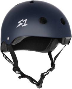 S1 Mega Lifer Helmet  - Navy Matte  after-sale protection