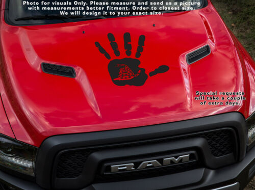 Don/'t Tread On Me Wave hand 3/% er 2nd amendment Patriotic Decal sticker