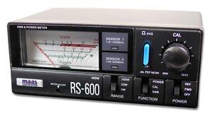 CB-HAM-RADIO-SWR-amp-POWER-METER-RS-600-1-8-MHz-160-MHz-140-MHz-525-MHz
