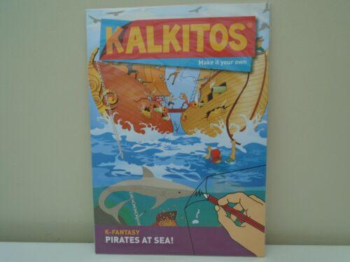 KALKITOS frotter transfert pack SCENE Pirates en mer