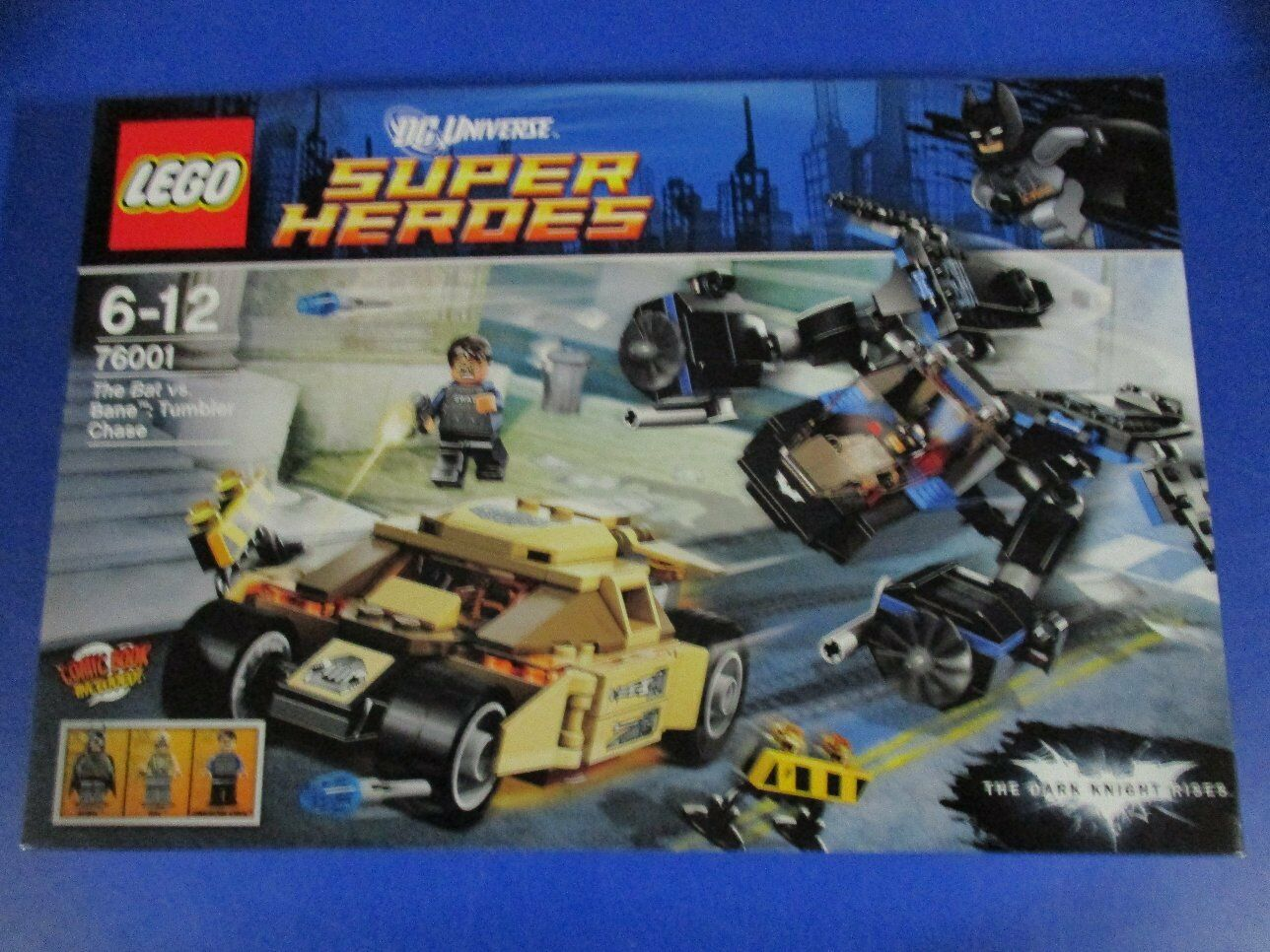 LEGO SUPER HEROES 76001 Batman vs Bane Inseguimento in Tumbler Nuovo OVP