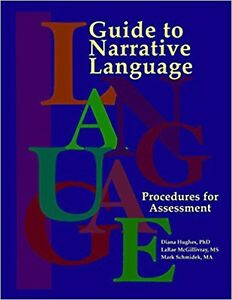Guide To Narrative Language Procedures For Assessment By Diana Hughes Author Ebay