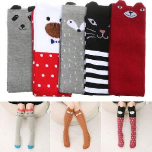 3-12 Years Old Children/'s Knee Socks Leg Warmers Long Tube Kids Dance Socks
