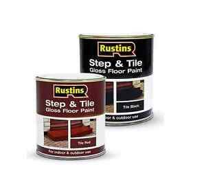 Rustins step and tile brick gloss floor paint for in outdoor durable non slip ebay - Non slip exterior paint style ...