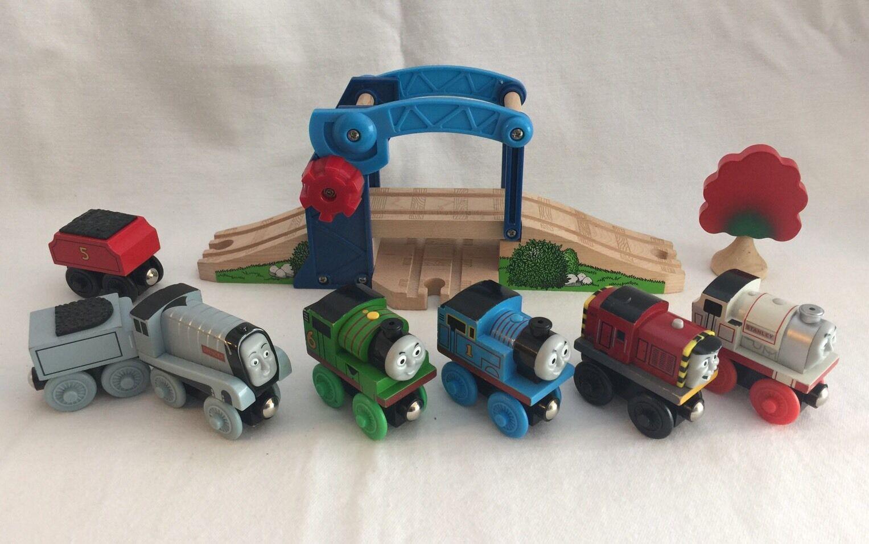 Thomas Wooden Railway Train Bridge Percy Stanley Spencer Salty Engine