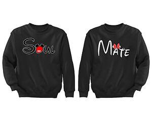 2-FOR-1-SALE-Soul-Mate-Matching-Couple-soft-Black-Unisex-Sweatshirt-S-6X