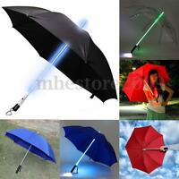 Color Changing Cool LED Umbrella Light Flash Night Protection Children XMAS Gift