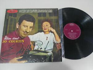 "Mon Ami Jo Courtin Edith Piaf Soundtrack 1968 Spain Edition LP vinyl 12 "" VG/VG"