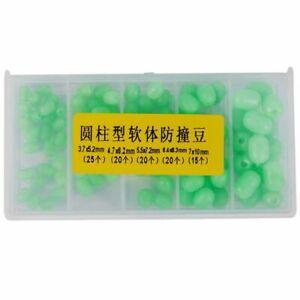 1X-1X-100pcs-Oval-Soft-Luminous-Fishing-Beads-Sea-Fishing-Lure-Floating-S2L8