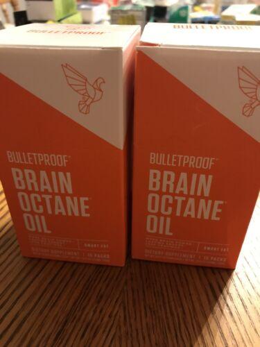 15 packs Each 2 Brain Octane Oil 30 Total pks NEW Bulletproof