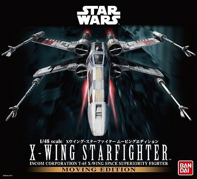 Star Wars X-wing starfighter moving edition 1/48 scale Model Fast shipping