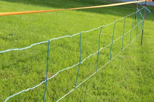 Electric Netting Fence Kit 3//29.5//8 Blue 164/' Hog//Wildlife Deterrent