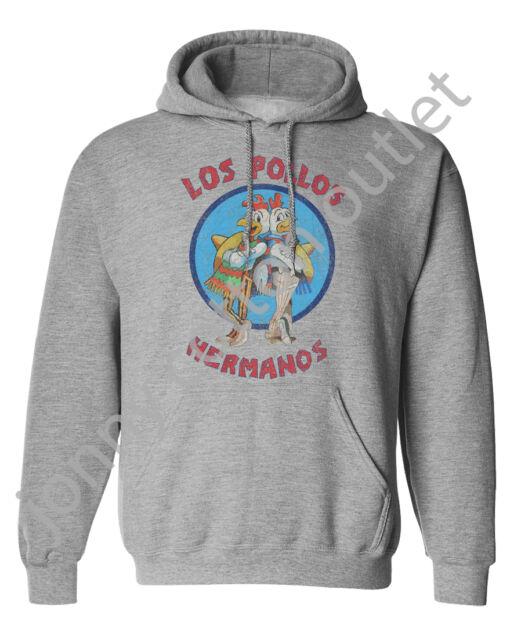Los Pollos Hermanos Hoodie Unisex Mens Ladies Breaking Bad Inspired Hooded Top