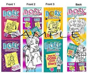 Image Is Loading 3 Lot DORK DIARIES BOOKMARKS Book Marker So
